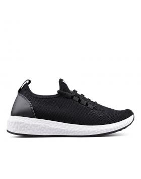 Черни дамски кецове 0133365 в online магазин Fashionzona