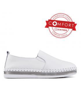 Дамски ежедневни обувки бели 0133376 в online магазин Fashionzona