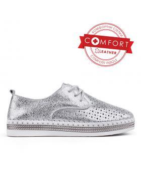 Дамски ежедневни обувки сребристи 0133377 в online магазин Fashionzona