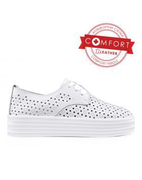 Дамски ежедневни обувки бели 0133387 в online магазин Fashionzona
