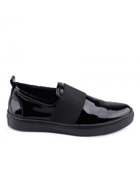 Черни дамски ежедневни обувки Carilla в online магазин Fashionzona