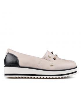 Дамски ежедневни обувки бежови 0132921 в online магазин Fashionzona