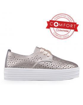 Дамски ежедневни обувки златисти 0133388 в online магазин Fashionzona