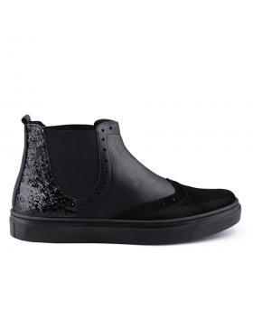 Черни дамски ежедневни боти 0126071 в online магазин Fashionzona