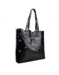 Черна дамска ежедневна чанта 0133135