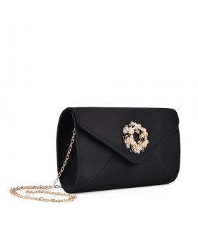 Черна дамска елегантна чанта 0134365 в online магазин Fashionzona
