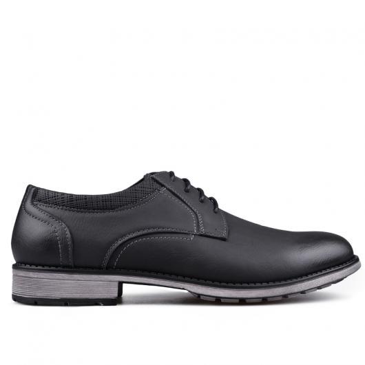 Черни мъжки ежедневни обувки 0133258
