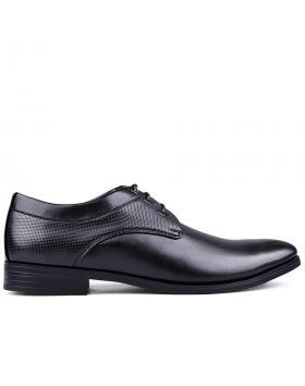Черни мъжки елегантни обувки 0133247 в online магазин Fashionzona