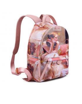 Розова дамска раница 0133156 в online магазин Fashionzona