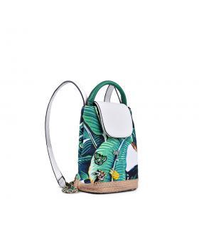 Зелена дамска раница 0133191 в online магазин Fashionzona