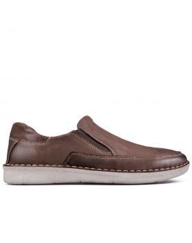 Кафяви мъжки ежедневни обувки Salvador в online магазин Fashionzona