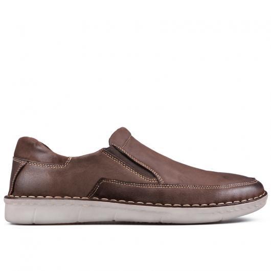 Кафяви мъжки ежедневни обувки 0133553