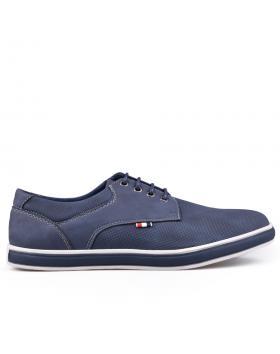 Сини мъжки ежедневни обувки 0133248 в online магазин Fashionzona