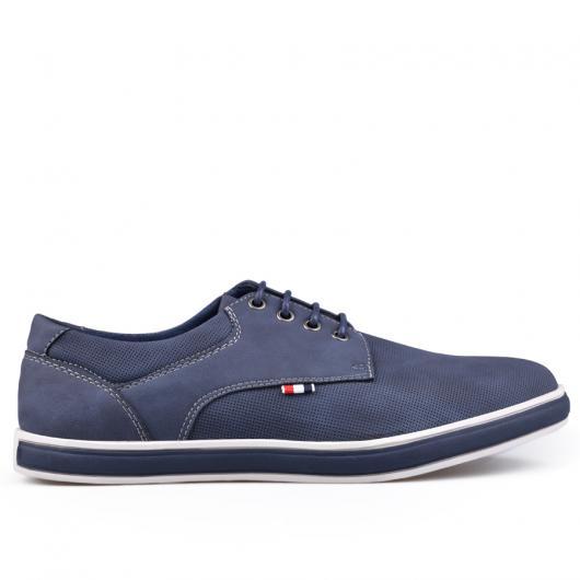 Сини мъжки ежедневни обувки 0133248