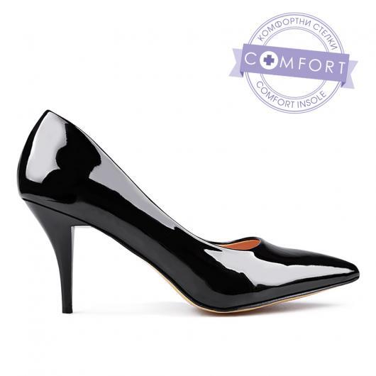 Черни дамски елегантни обувки 0132960