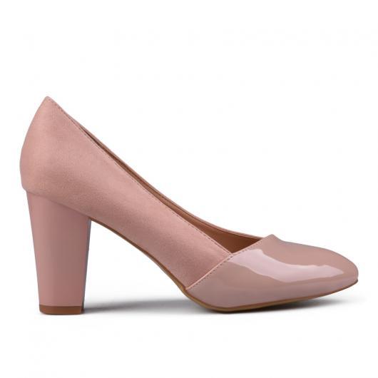 Розови дамски елегантни обувки 0132949