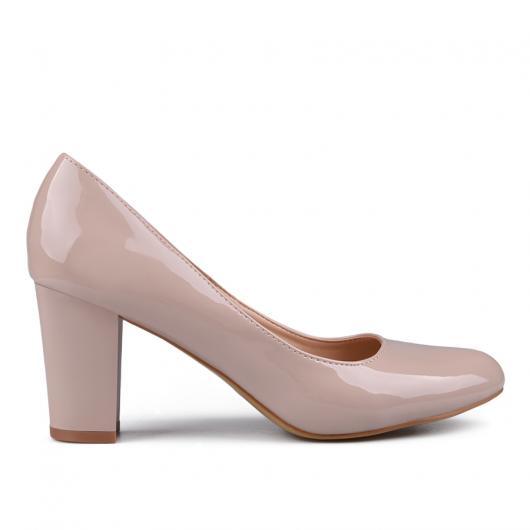 Бежови дамски елегантни обувки 0132952
