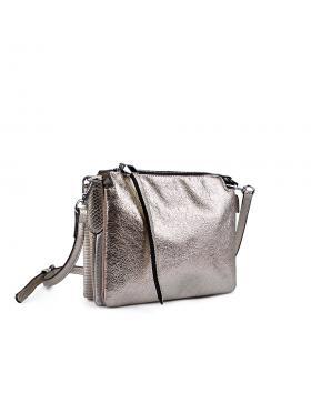 Дамска ежедневна чанта златиста 0133190 в online магазин Fashionzona