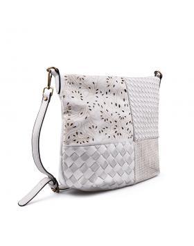Бяла дамска ежедневна чанта 0133174 в online магазин Fashionzona
