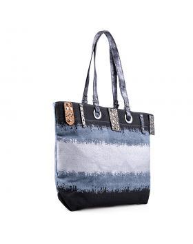 Дамска ежедневна чанта синя 0133195 в online магазин Fashionzona