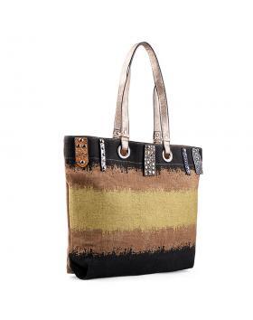 Дамска ежедневна чанта златиста 0133196 в online магазин Fashionzona