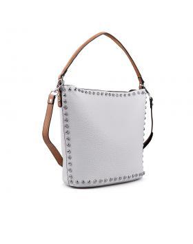 Дамска ежедневна чанта бяла 0133205 в online магазин Fashionzona