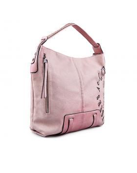 Дамска ежедневна чанта розова 0133208 в online магазин Fashionzona