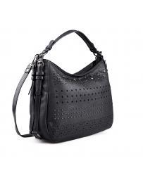 Черна дамска ежедневна чанта 0133210