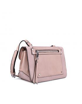 Дамска ежедневна чанта розова 0133200 в online магазин Fashionzona