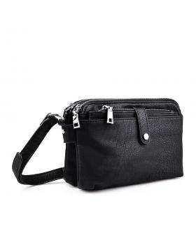 Дамска ежедневна чанта черна 0133214 в online магазин Fashionzona