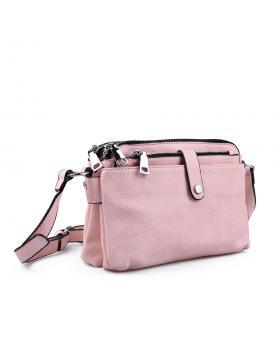 Розова дамска ежедневна чанта 0133215 в online магазин Fashionzona
