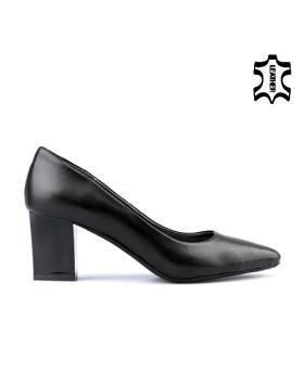 Черни дамски елегантни обувки 0122839 в online магазин Fashionzona