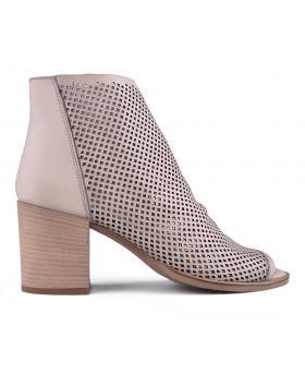 Дамски ежедневни боти бежови 0134682 в online магазин Fashionzona