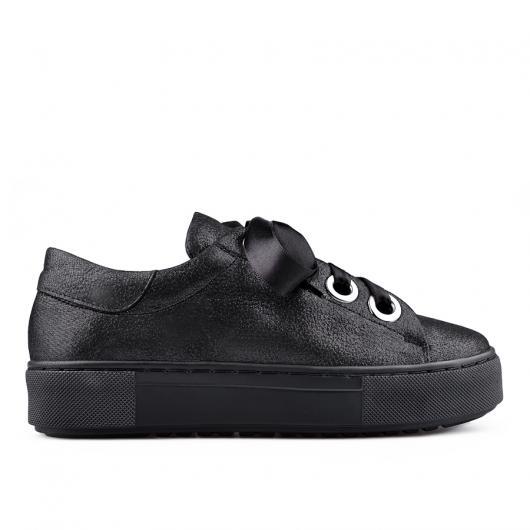 Черни дамски ежедневни обувки 0134687