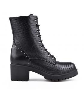 Черни дамски ежедневни боти 0134666 в online магазин Fashionzona