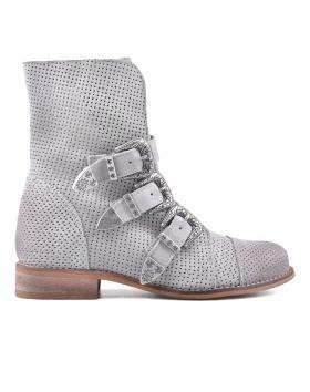 Сиви дамски ежедневни боти 0134684 в online магазин Fashionzona