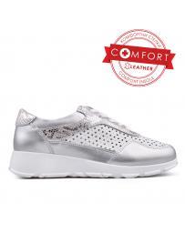 Дамски ежедневни обувки сребристи 0133391