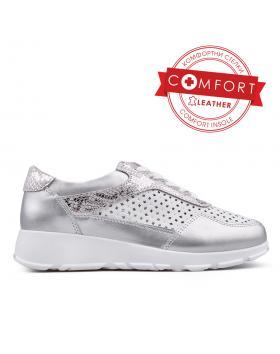 Сребристи дамски ежедневни обувки 0133391 в online магазин Fashionzona