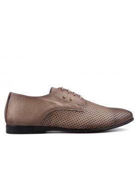 Кафяви мъжки елегантни обувки Fonzie в online магазин Fashionzona