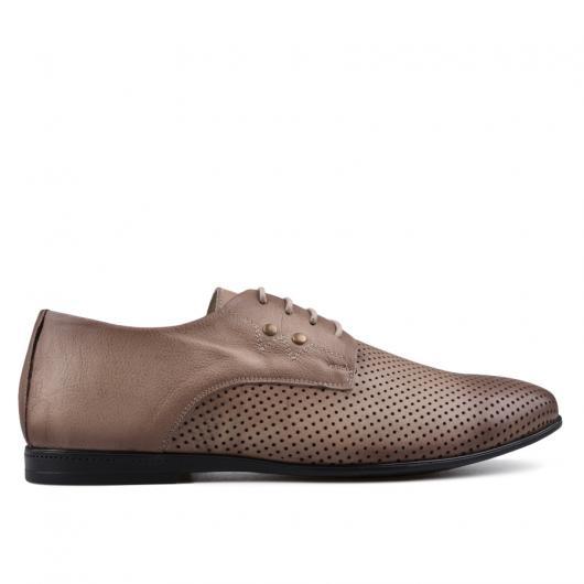 Кафяви мъжки елегантни обувки Fonzie