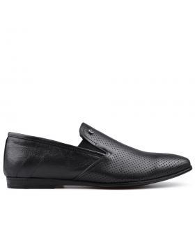 Черни мъжки елегантни обувки Martin в online магазин Fashionzona