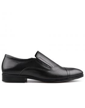 Черни мъжки елегантни обувки Belisario в online магазин Fashionzona