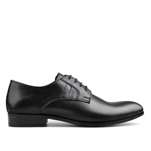 Черни мъжки елегантни обувки Enzo