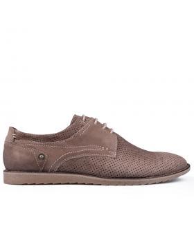 Кафяви мъжки ежедневни обувки 0134771 в online магазин Fashionzona