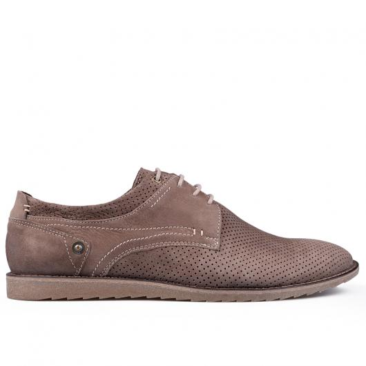 Кафяви мъжки ежедневни обувки Leandro