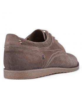 Кафяви мъжки ежедневни обувки Leandro в online магазин Fashionzona