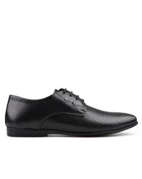 Черни мъжки елегантни обувки Damian в online магазин Fashionzona
