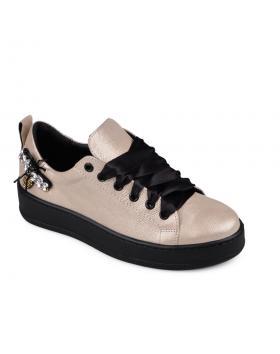 Дамски ежедневни обувки бежови 0134713