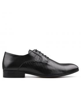 Черни мъжки елегантни обувки Alucido в online магазин Fashionzona