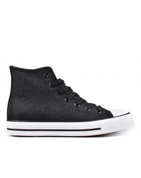 Черни дамски кецове 0133802 в online магазин Fashionzona